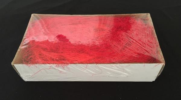 Caixa de Sisal Vermelho